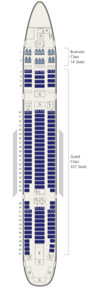 saudi airlines boeing 777-200 seat map